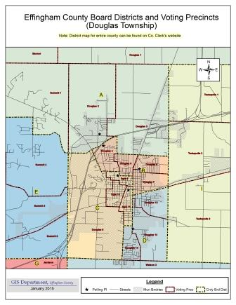 Effingham County Online Maps | Effingham County, Illinois (IL)